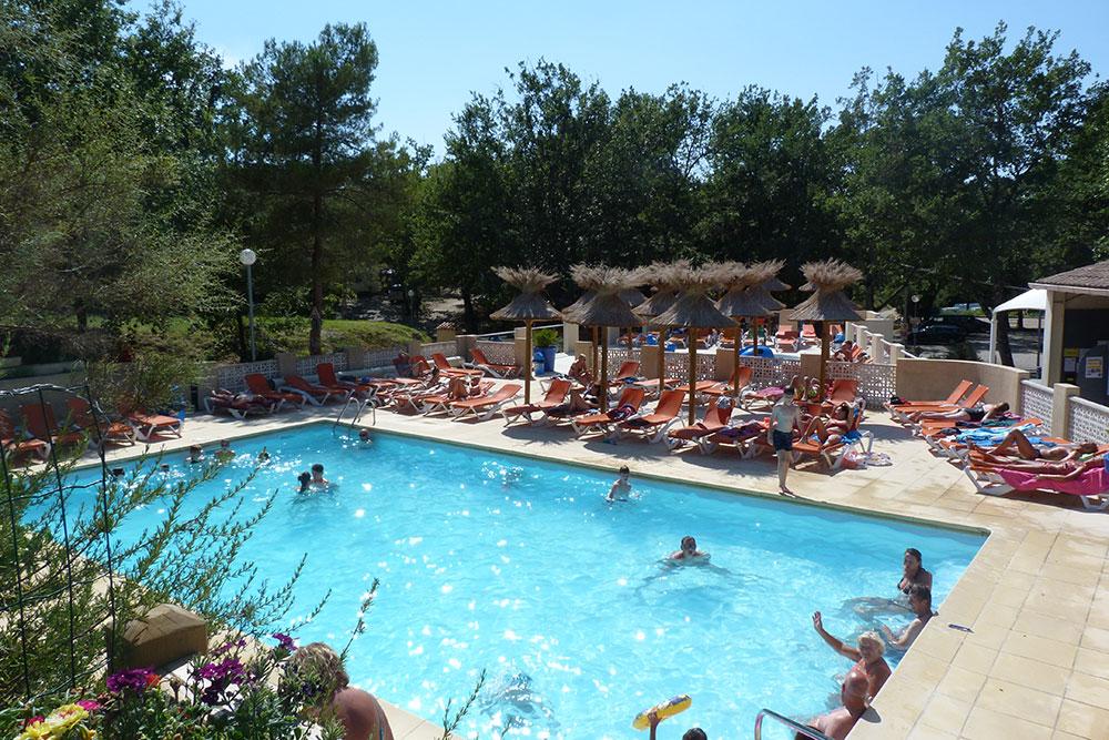 Camping vaison la romaine l ayguette vaucluse en provence - Camping vaison la romaine avec piscine ...