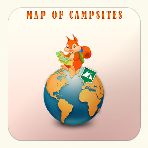 map of campsites